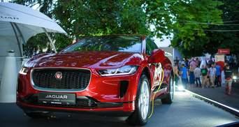 Jaguar I-Pace: во Львове представили первый премиальный электрокар компании