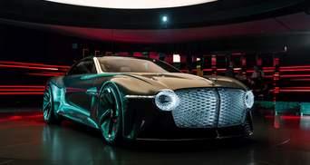 Bentley EXP 100 GT: показали премиальный электрокар будущего