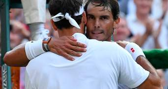 Федерер и Надаль сыграли сумасшедший 40-й матч: лучшие моменты (видео)