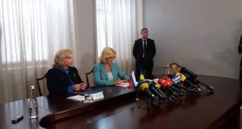 Денісова та Москалькова зустрілися у Києві: про що домовились