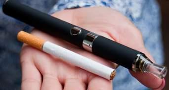 Супрун: МОЗ пропонує ввести визначення електронних сигарет та обмежити продаж тютюнових виробів