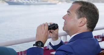 Медведев снова посетил оккупированный Кремлем Крым: появилась реакция МИД Украины
