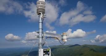 На одній із найвищих гір України встановили цікавий пристрій