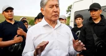 Штурм резиденції Атамбаєва: екс-президента Киргизстану затримали
