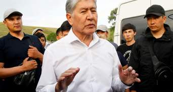 Штурм резиденции Атамбаева: экс-президента Кыргызстана задержали