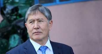 Суд виніс рішення Атамбаєву: у чому підозрюють екс-президента Киргизстану