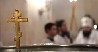 Завжди намагаюся так хрестити, – російський священик про гучний скандал із немовлям