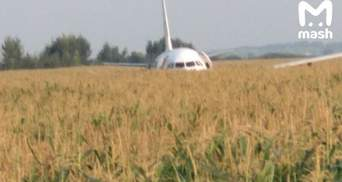 Аварія пасажирського літака під Москвою: хто постраждав – список
