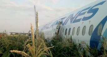Аварія літака в Підмосков'ї: у двигуни судна влетіла зграя птахів – відео