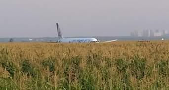 Аварія літака в Підмосков'ї: врятовані пасажири нарікають, бо їм не повернули багаж – відео