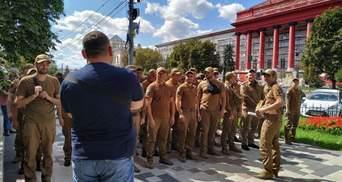 Марш захисників провів першу репетицію до Дня Незалежності: відео