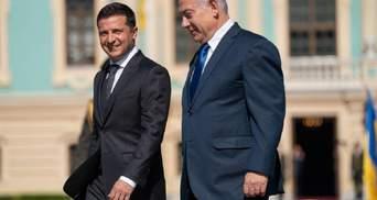 Спільний брифінг Зеленського і Нетаньяху: головні тези
