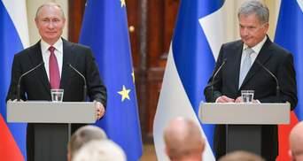 Путін поговорив про Україну з президентом Фінляндії