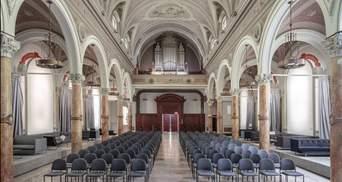 Старовинна церква стала залом для йоги і конференцій: фото неймовірного перевтілення