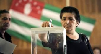 """Россияне проводят """"выборы"""" в оккупированной Абхазии: Украина отказалась их признавать"""