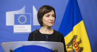 Премьер Молдовы Санду высказалась об отношениях с Украиной и Россией и федерализации государства