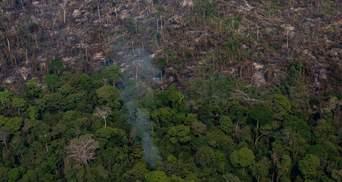 Масштабні пожежі в Амазонії: президент Бразилії відмовився від допомоги G7