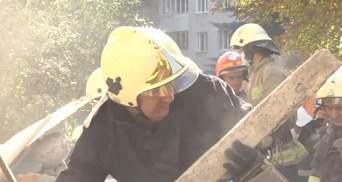 Обвал будинку у Дрогобичі: чому рятувальники відкинули версію вибуху газу