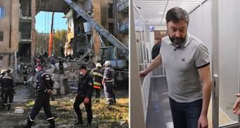 Главные новости за 28 августа: Обвал дома в Дрогобыче, Вышинского выпустили из-под стражи