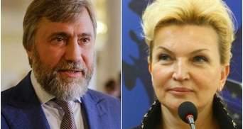 Новинский внес 6 миллионов гривен залога за Богатыреву и она вышла на свободу