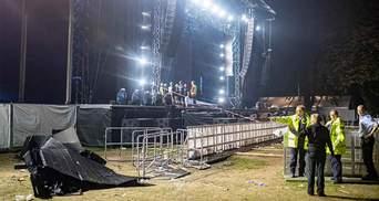 Під час концерту впала сцена у Німеччині, як на українському Kozak Fest: фото та відео
