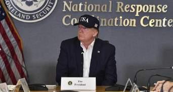 Скасувавши свій візит до Польщі, Дональд Трамп поїхав грати у гольф
