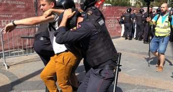 Масові протести у Москві: влада покарала ще одного учасника