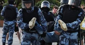 Аресты в России: активист получил три года, потому что коснулся шлема росгвардейца – видео