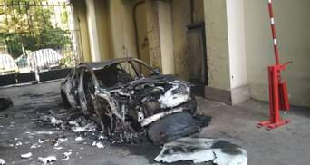 Все знали, чья это машина: охранник о поджоге автомобиля невестки Гонтаревой