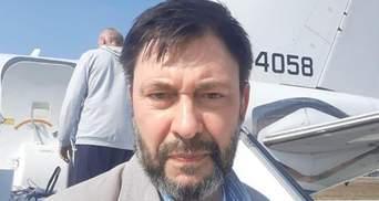 Вишинський каже, що не погоджувався на обмін, а його заява – фейк
