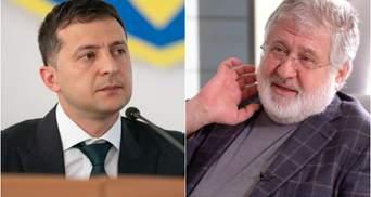 Зеленський розповів, про що говорив з Коломойським в Офісі Президента