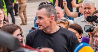 Сенцов показав єдине фото, зроблене у російській в'язниці