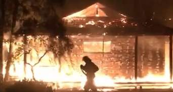 Поджог дома Гонтаревой: что известно на данный момент – фото и видео