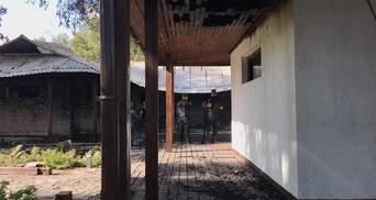 Поджог дома Гонтаревой: как выглядит ее дом после пожара – фото