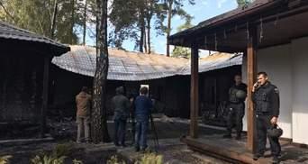 Поджог дома Гонтаревой: полиция нашла на пепелище светошумовую ракету