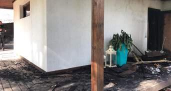 Це терор, – НБУ відреагував на підпал будинку Гонтаревої