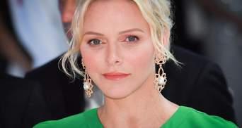 Княгиня Монако поддержала украинского дизайнера: что надела 41-летняя Шарлен