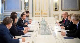 Зеленский встретился с представителями МВФ: о чем говорили