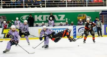 """Хокей: """"Кременчук"""" закинув 11 шайб, а """"Білий Барс"""" мінімально поступився """"Дніпру"""" (відео)"""