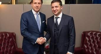 Зеленский и итальянский премьер Конте обсудили освобождение Виталия Маркива