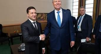 Зеленский вскоре посетит Румынию, президент Йоханнис – Украину