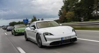 Перший електрокар компанії Porsche Tyacan: оголошено ціни в Україні