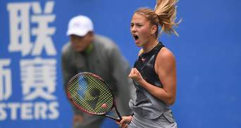 Марта Костюк вышла в полуфинал теннисного турнира ITF