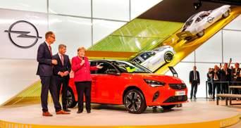 Opel представил во Франкфурте электрическое будущее