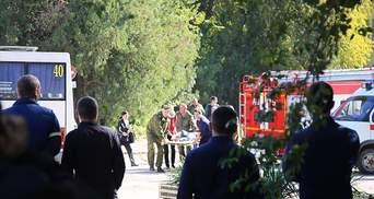 Расстрел в Керчи: оккупанты заявляют о массовом распространении идей насилия