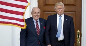 Роль адвоката Трампа в американо-украинском скандале
