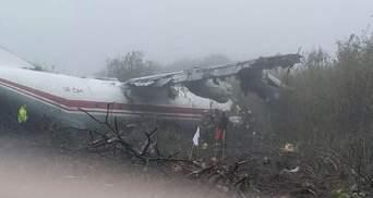 Падение грузового самолета Ан12 подо Львовом: все, что известно
