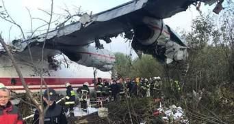Назвали две версии смертельной аварии самолета под Львовом