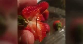 В Австралии обнаружили упаковки фруктов с иглами внутри