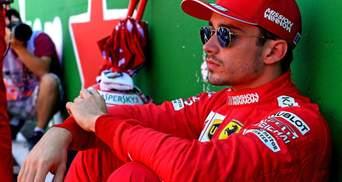 Пілота Ferrari Леклера оштрафували за аварію на гран-прі Японії: відео